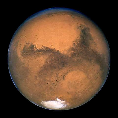Where is planet Mars tonight?