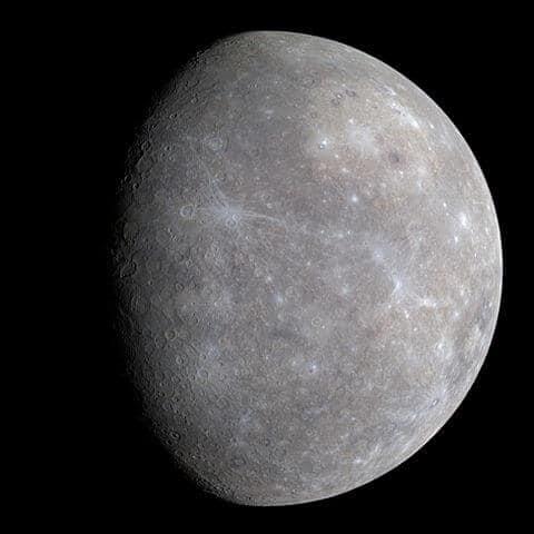 Where is planet mercury tonight?