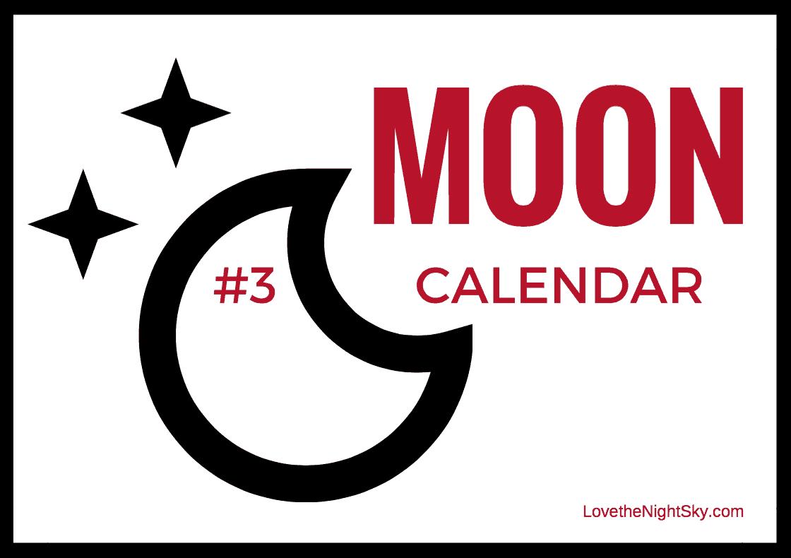 Moon Calendar Cover