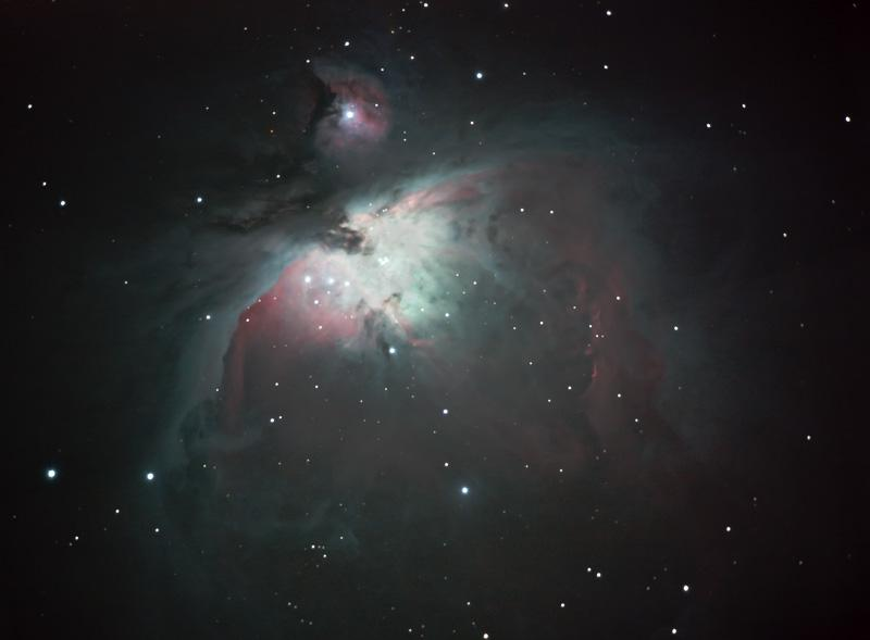 Orion Nebula through the NexStar 8SE telescope
