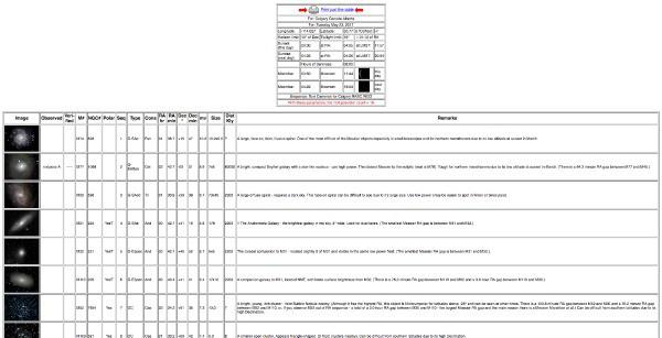 Messier marathon spreadsheet