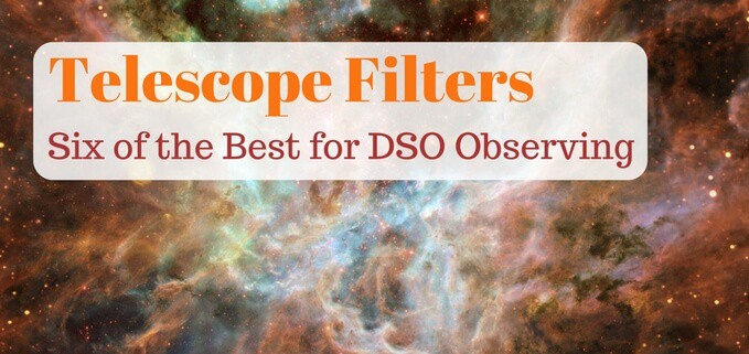 Best telescope filters for deep space objects