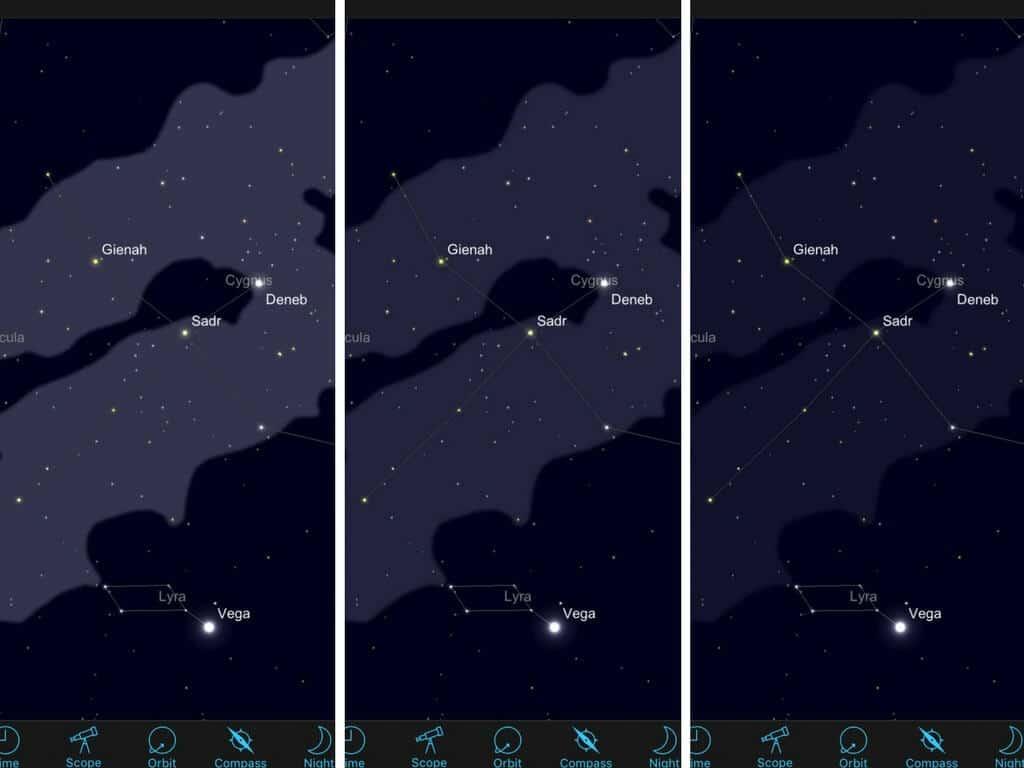 Sky Safari Milky Way intensity settings